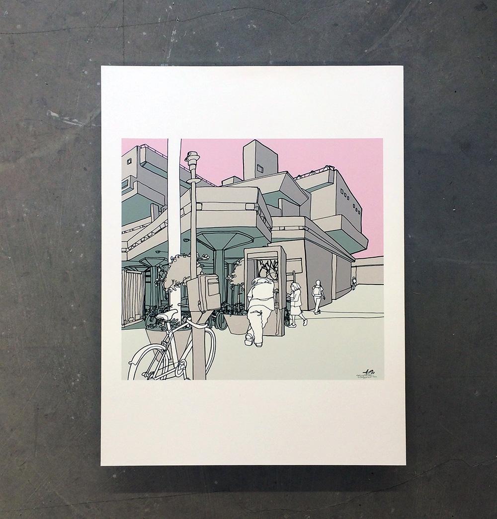 'Hayward Gallery' print